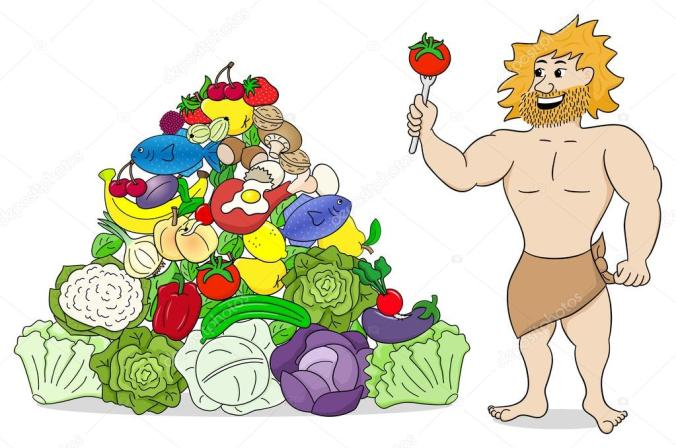 depositphotos_65044087-stock-illustration-caveman-with-paleo-food-pyramid